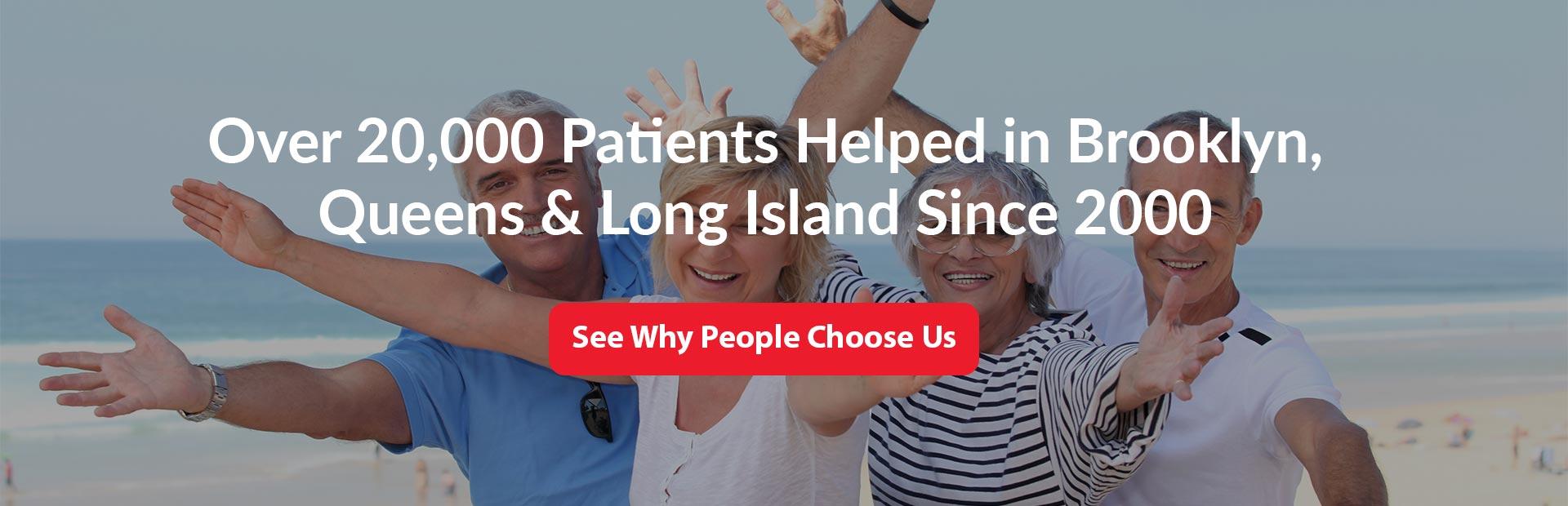 patients helped
