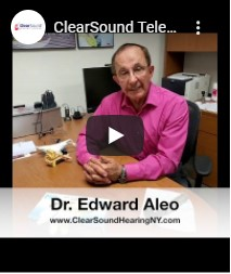 ClearSound Telehealth Consultations and Quarantine Safety Protocols